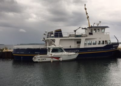 APS Vessel tied up to the Indian Maiden Summer 2015