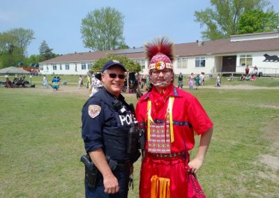 Dave Hobson & Gavin King at the CIES Pow Wow May 2016 (Small)